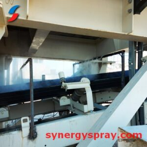 dust suppression system india crusher coal mines conveyor
