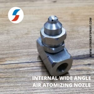 wide angle internal air atomizing nozzle india manufacturer chennai