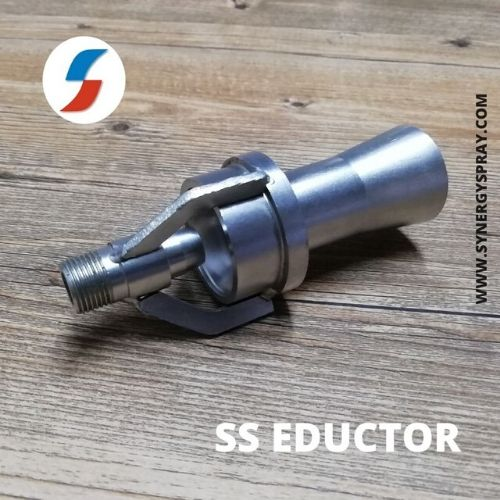 Stainless steel twin fluid mixing eductor